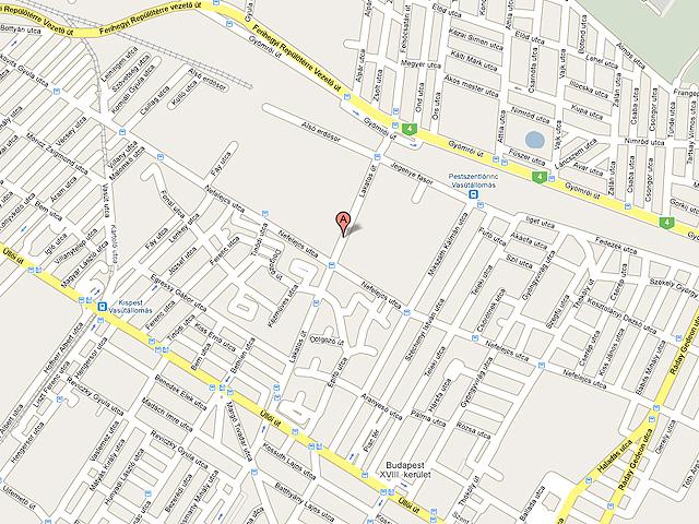 budapest térkép 18 ker Valor Kft.   raktár, műhely, iroda budapest térkép 18 ker